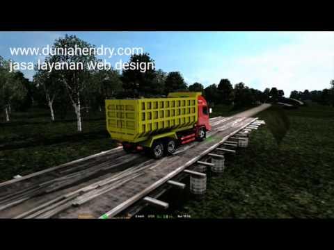 ETS2 | TRUCK HINO SERIES 500 MENELUSURI PEDALAMAN SUMATRA