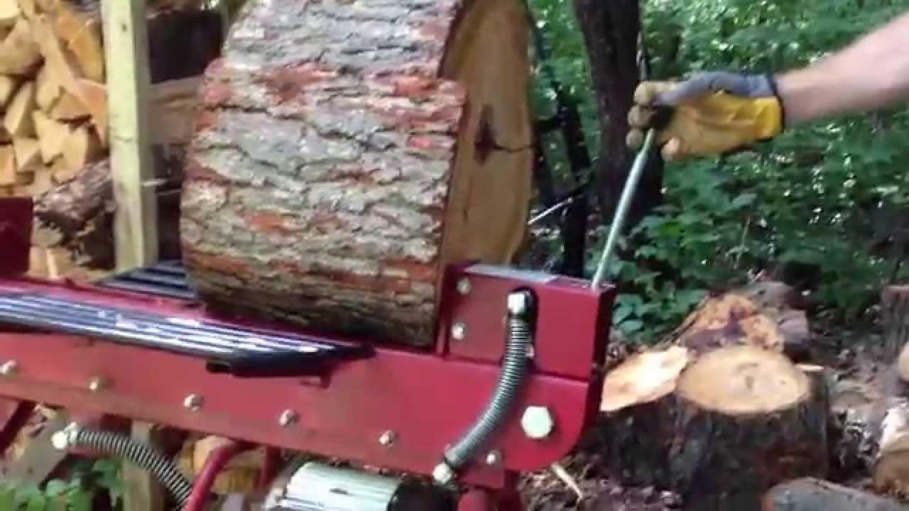 Boss Industrial 10 Ton Horizontal Dual Action Electric Log
