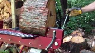 Boss Industrial 10-Ton Horizontal Dual-Action Electric Log Splitter