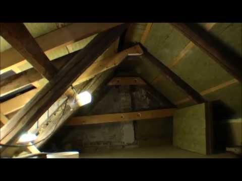 Building a sleeping loft under the roof - 081