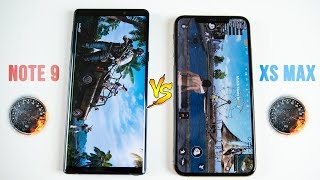 iPhone XS Max vs Galaxy Note 9 SPEED Test - You May Be Surprised..