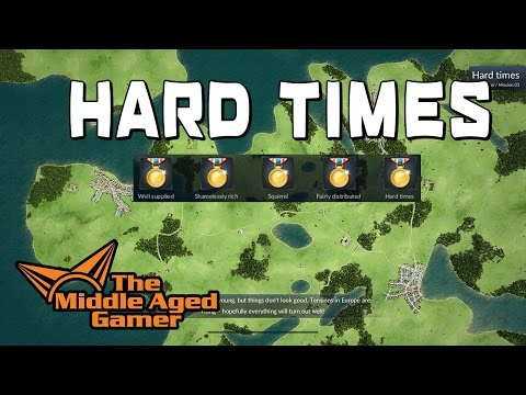 Transport Fever - Europe Campaign - Hard Times - 5 Gold Meda