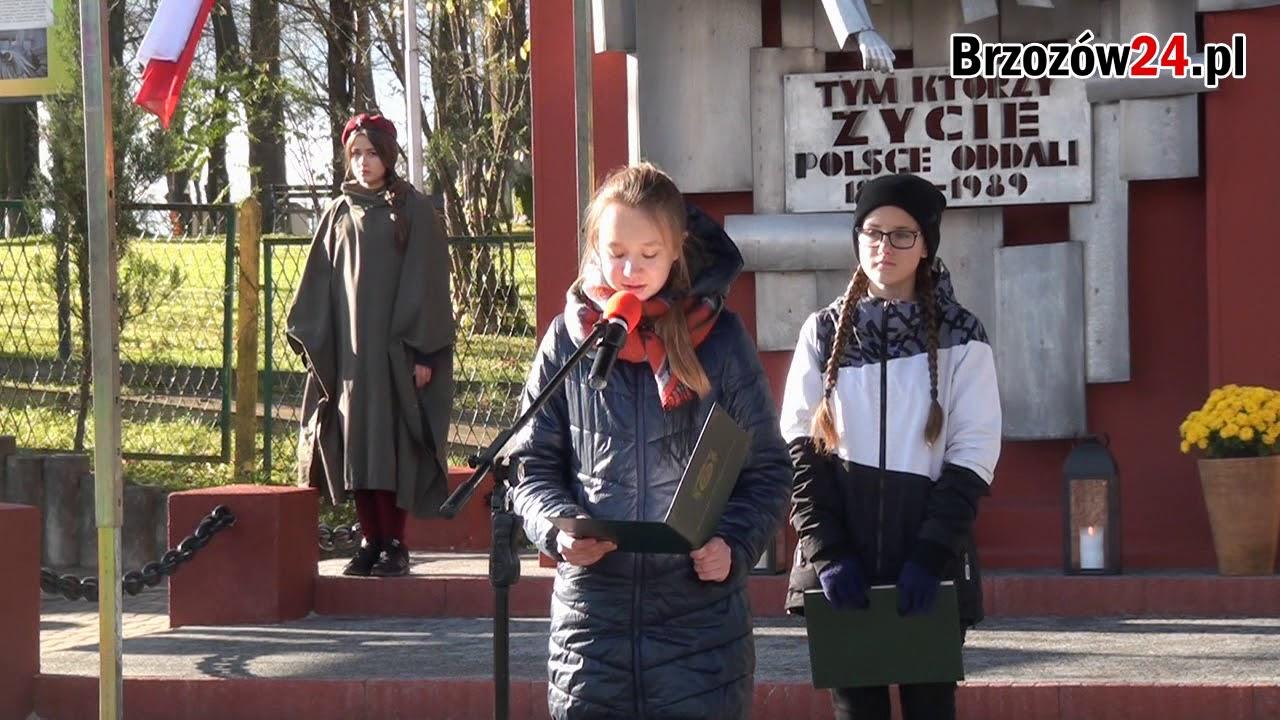 Brzozowianie uczcili rocznice odzyskania niepodległości – 2017 (FILM)