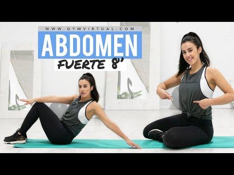 Rutina de abdomen | 8 minutos intensos para un vientre plano