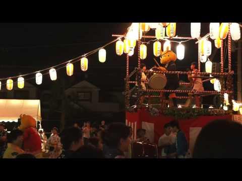 さかサイ君音頭 逆井藤心夏祭り 2015/07/15