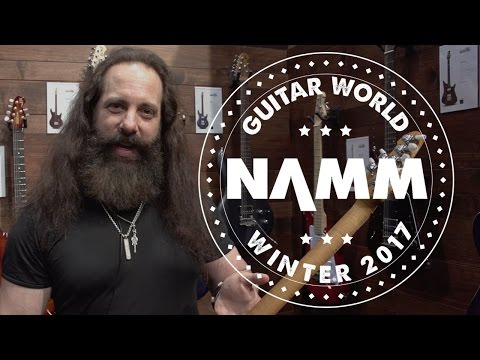 NAMM 2017 - Ernie Ball Music Man -  John Petrucci  Monarchy, JP15, and NOMAC Majesty Limited Edition