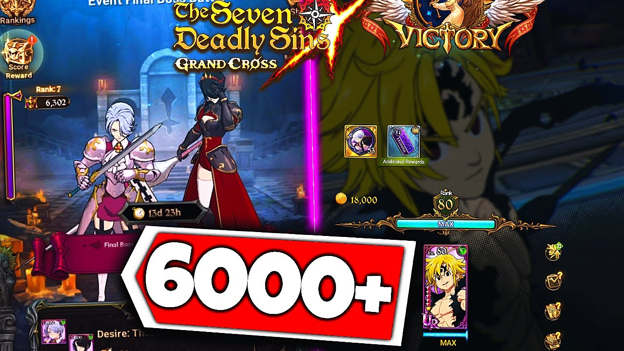 NEW Jericho and Guila Final Boss BEST POINT STRATEGY and ASSAULT MELI SOLO! | 7DS: Grand Cross
