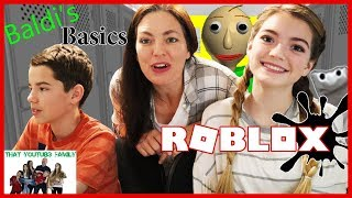BALDi'S BASiCS Roblox Gameplay / That YouTub3 Family