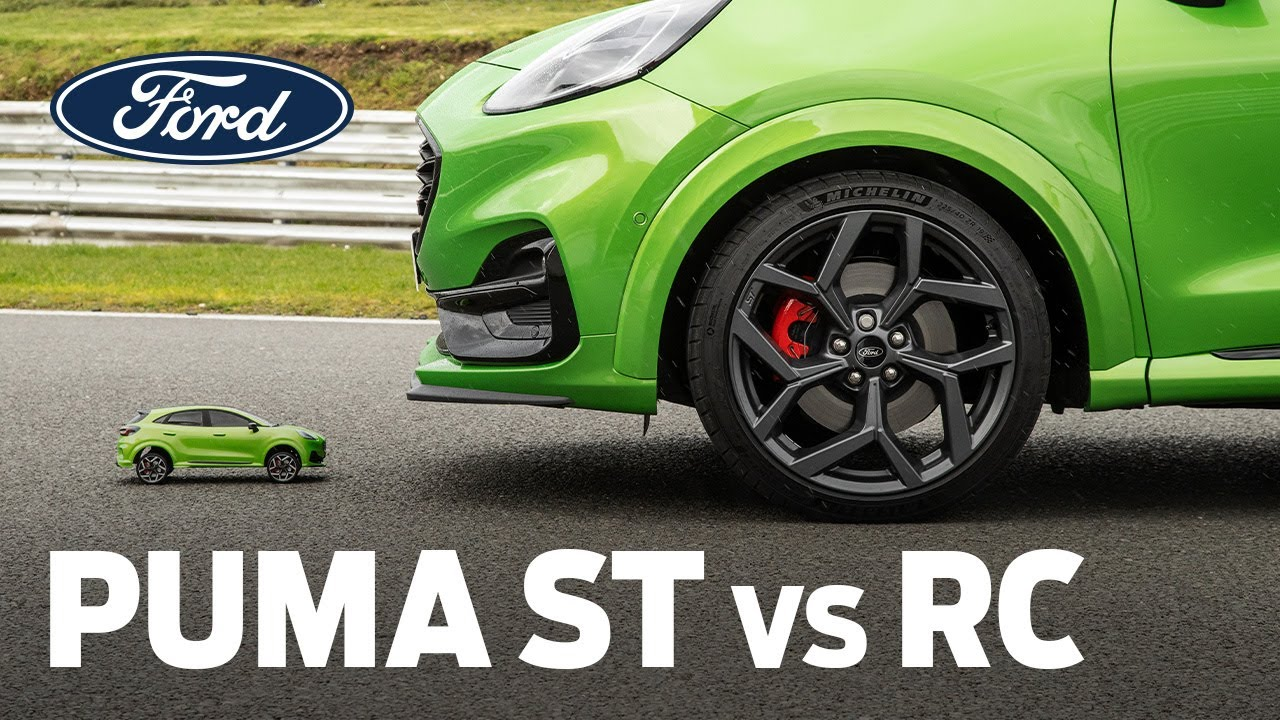 Real Ford Puma ST RACES Replica RC Car! Who Wins?