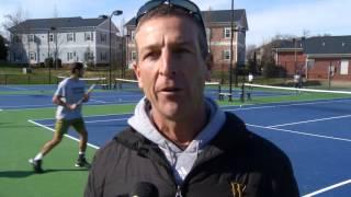 Men s Tennis Prepares for 2016 Opener