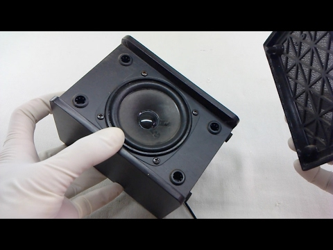 How To Open Sealed Speaker