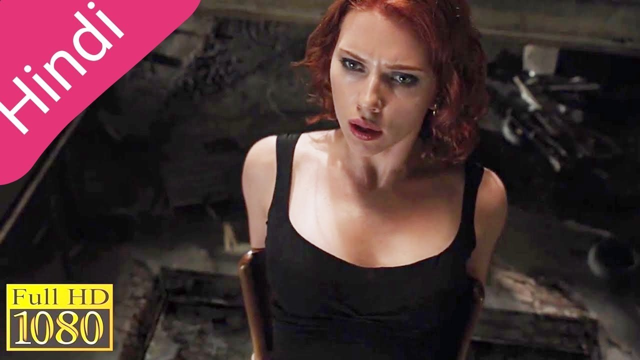 The Avengers Black Widow Kidnapped Hd Scene Black Widow Interrogation Scene The Avengers
