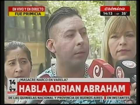 Masacre de Florencio Varela: Declaró Adrián Abraham