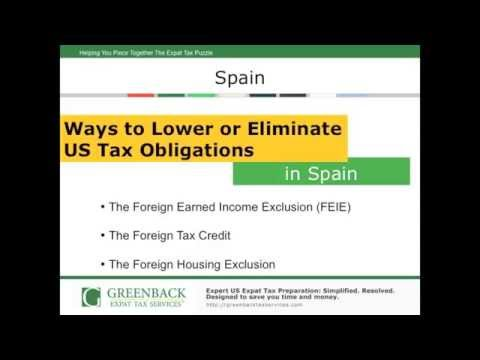 What Americans in Spain Need to Know About Expat Taxes