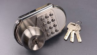 1012-100-mechanical-keypad-deadbolt-picked-decoded-elemake