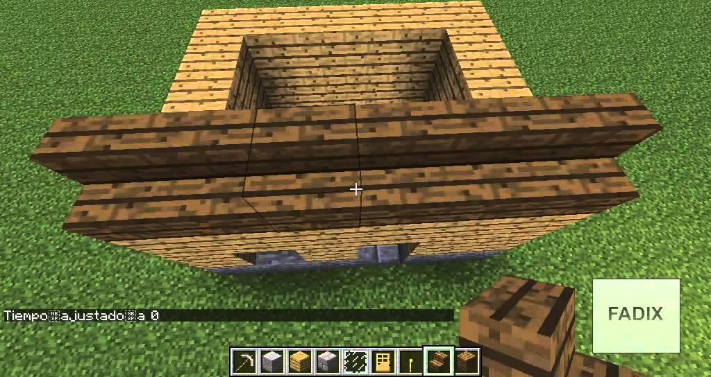 Minecraft como hacer una casa sencilla youtube - Como construir tu casa ...