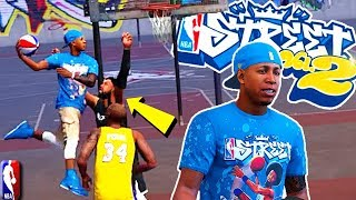 NBA STREET V2 Comes To NBA 2K18 PLAYGROUND - Road To 99