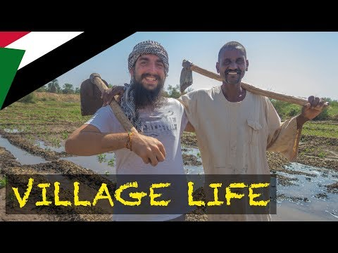 A Day Of Life In Sudanese Village Nuri