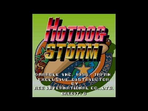 Hotdog Storm 1996 Marble Mame Retro Arcade Games