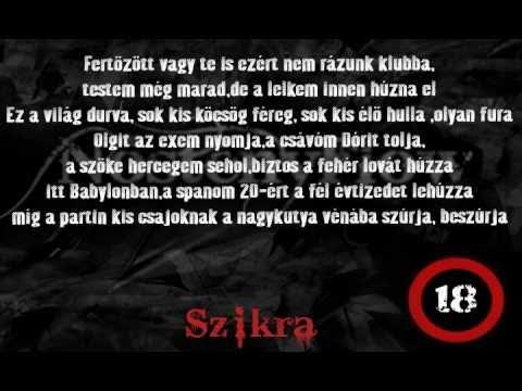 szerelmes rap idézetek NatteR Mc & Szikra   NőstényFlow (Prod by NatBeatZ) [2010]   YouTube