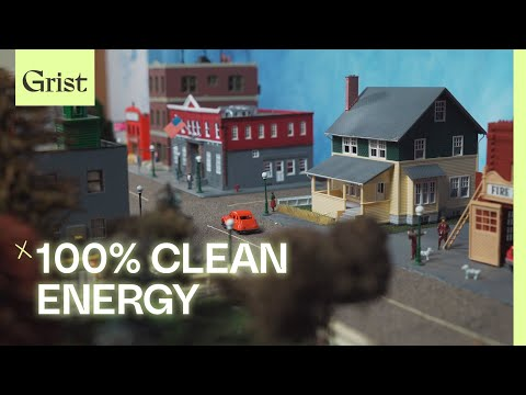 This tiny model town shows how we could achieve 100% clean energy