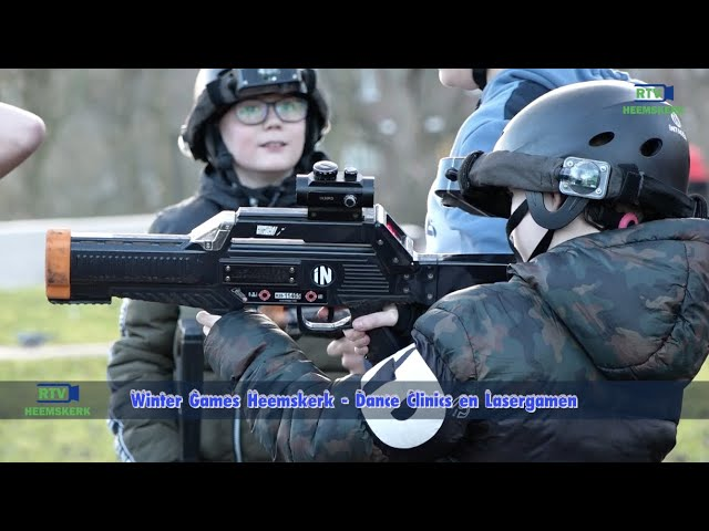 Winter Games Heemskerk: Dance clinics en lasergamen