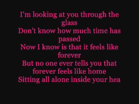 Stone Sour - Through Glass { Lyrics.