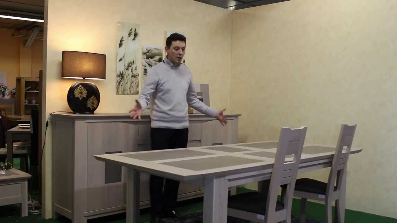 salle manger bali gicamob girardeau youtube. Black Bedroom Furniture Sets. Home Design Ideas