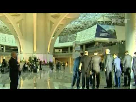 RISING RUSSIA Opens EUROPE'S LARGEST TERMINAL at Moscow's Vnukovo AIRPORT