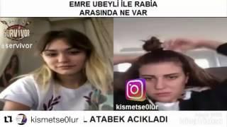 EMRE UBEYLİ VE RABİA ARASINDA NE VAR !!!!!