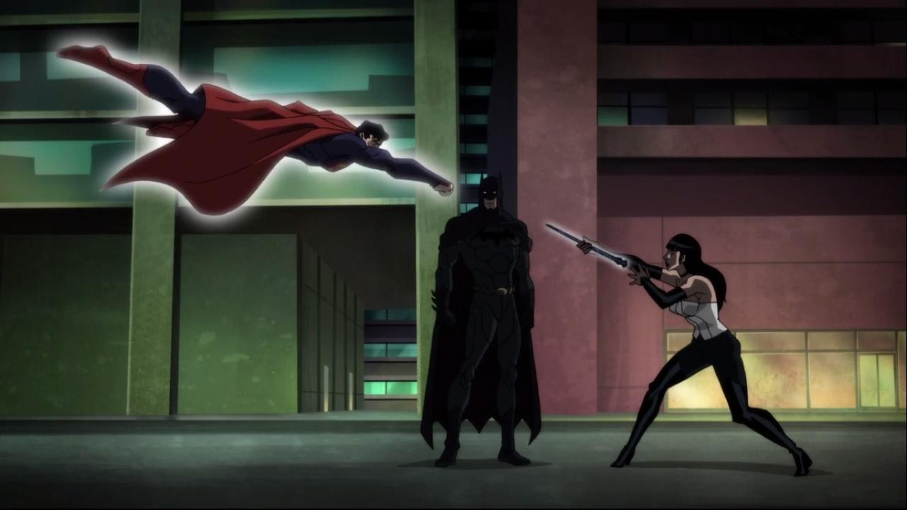 Liga de la justicia oscura - Batman y Zatanna vs Miembros de la ...