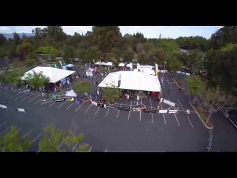 Ebike Expo Palo Alto Arial Footage