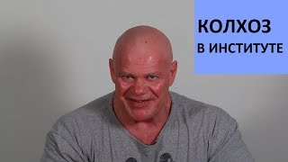 Веселое рабство, или колхоз в институте))