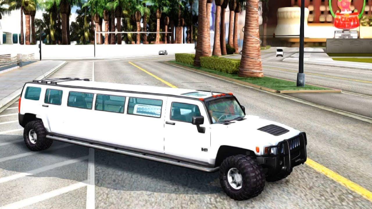 Hummer H3 Limousine GTA San Andreas