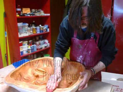 C mo hacer una m scara decorativa de cart n piedra papel - Como hacer una mascara ...