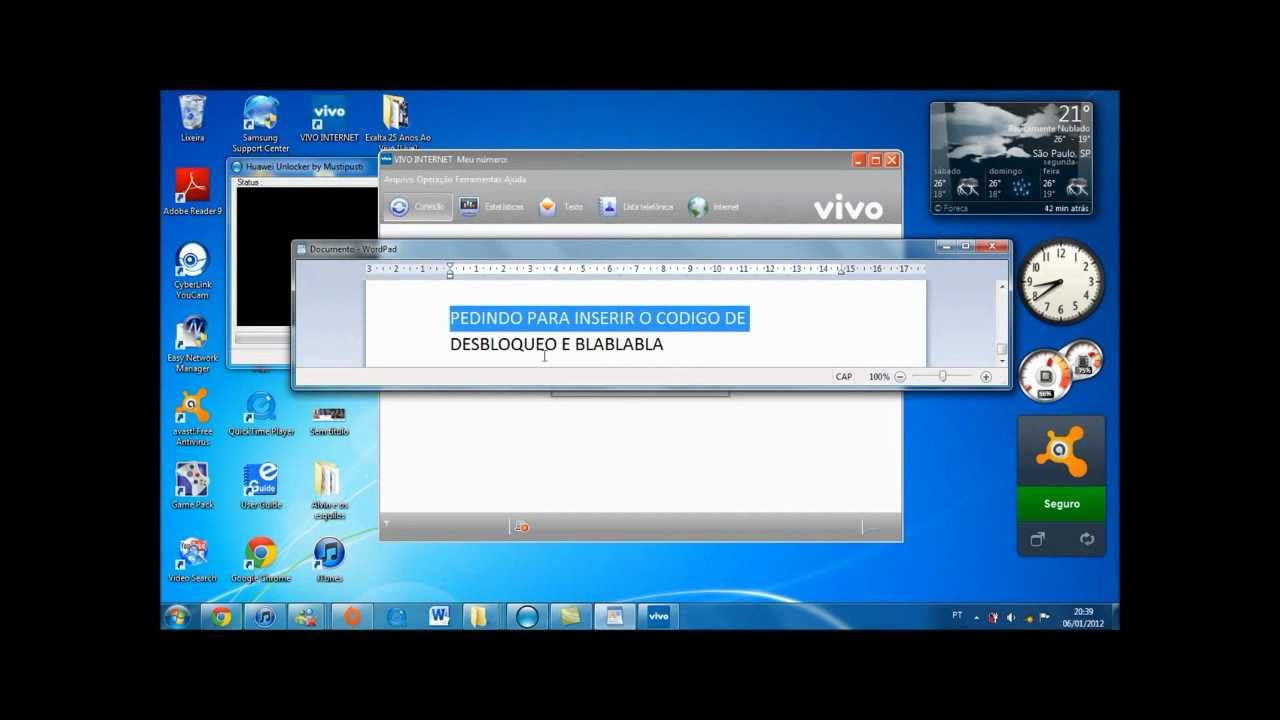 programa para desbloquear modem huawei e1756