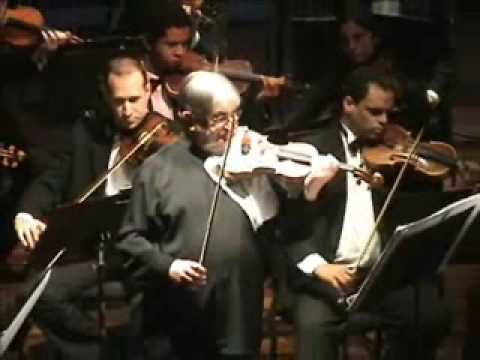 Hasson playing Mozart 5th 2nd mov 5 27 07 06