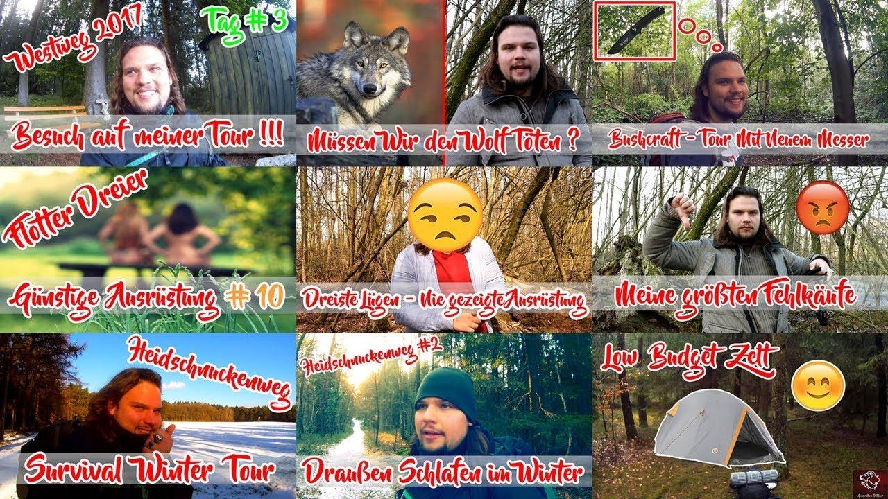 LOADOUT für YOUTUBE VIDEO ! ???? - Anleitung Ausrüstung Kamera | Bushcraft Outdoor Camping