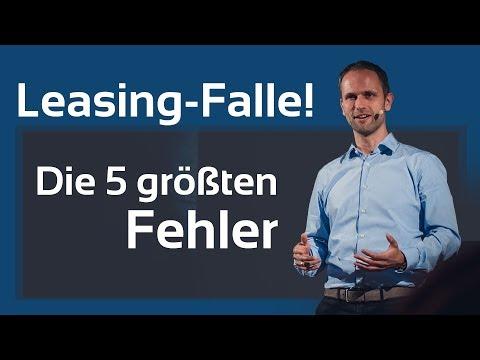 Leasing Falle - Die 5 größten Fehler beim Auto Leasing