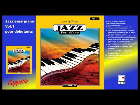 Partitions - Jazz easy piano pour débutants vol.1