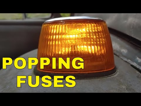 CLASSIC VW, WHY DO I KEEP POPPING FUSES? I NEED YOUR HELP!!!!!!