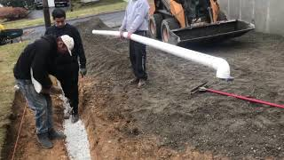 driveway water drainage solutions