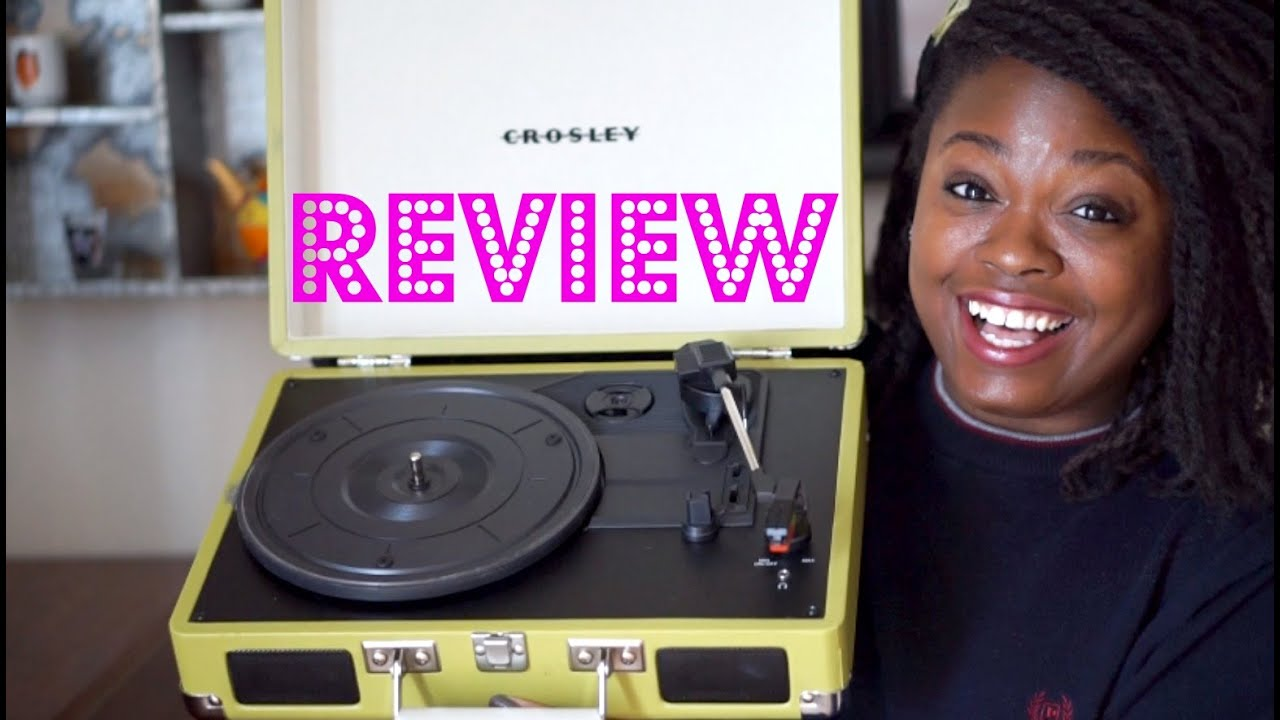 I Bought A Record Player!   Crosley Cruiser Review   87PAGES   YouTube