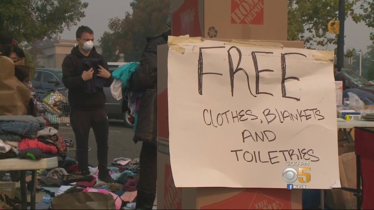 Thousands Of Evacuees From Camp Fire Come To Grips With Losing Everything