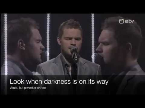 Kuula - Lyrics Translation in English Karaoke - Estonian Eurovision 2012