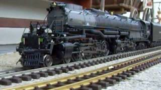 g scale mth big boy new dcc outdoor video 2