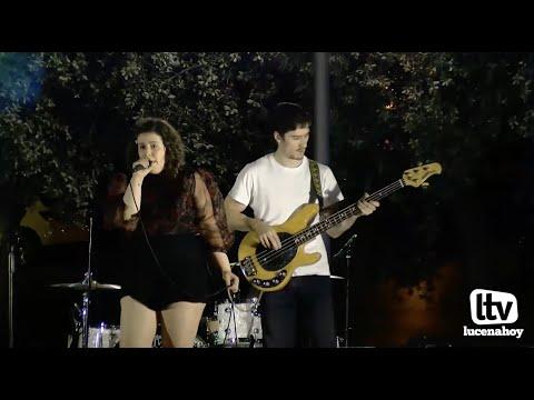 VÍDEO: Algunos temas de la banda lucentina Ara Fiore en el llanete de San Juan de Dios