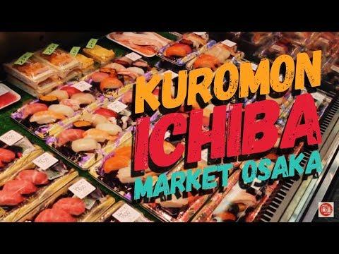 Japan Experience HD - Kuromon Ichiba Market 黒門市場 Eng Sub - Il Comico In Giappone