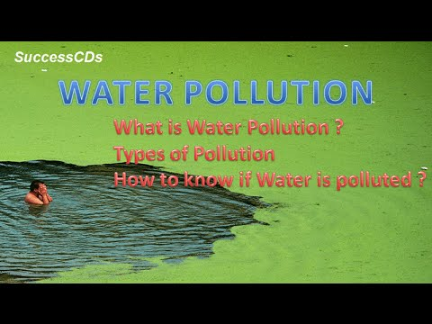 advantages of water pollution