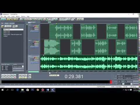 Cuña para radio - Cool edit  Creacion de spot